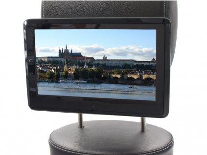 """DVD/SD/USB/HDMI monitor 10,1"""" s držákem na opěrku, dotyk. obrazovka, české menu"""