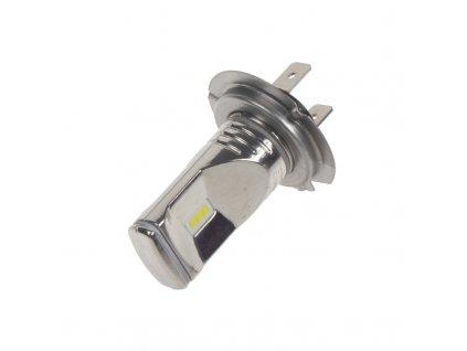 CSP LED H7 bílá, 12-24V, 3x10W, chrom
