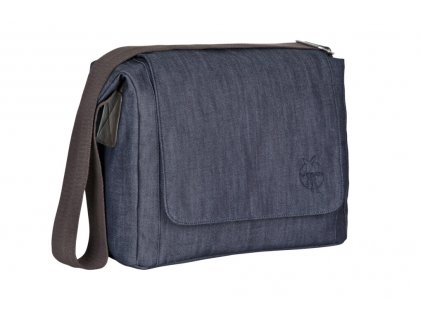 Green Label Small Messenger Bag Update black mélange  Taška na kočárek