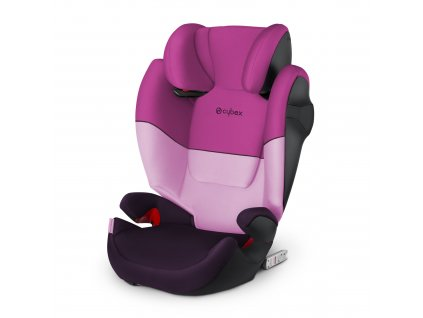Cybex Solution M-fix Purple Rain 2020  autosedačka 15-36 kg