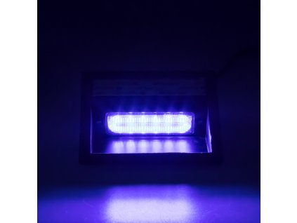 PREDATOR LED vnitřní, 6x LED 5W, 12/24V, modrý, ECE R65