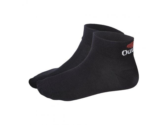 Ponožky nízké Outlast® - černá (Velikost 43-46)