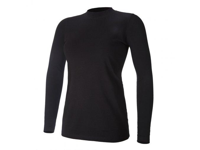 Tričko dámské DR tenké Outlast® - černá (Velikost XL)