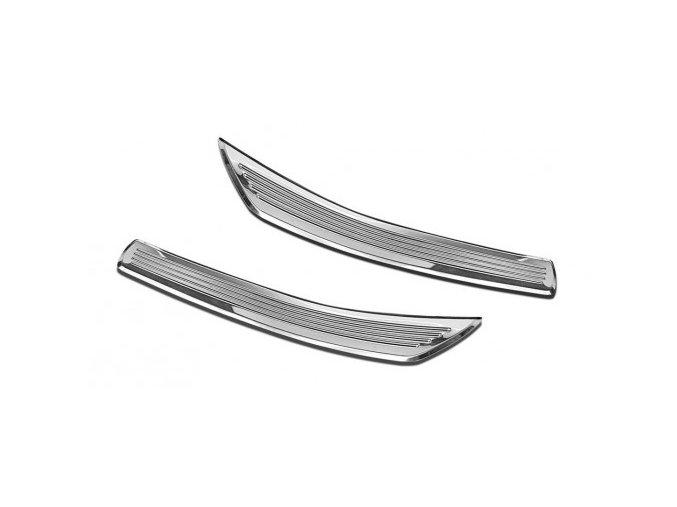 OCHRANNÉ PRAHOVÉ LIŠTY Mercedes Benz GLC 2015-> 2ks 2/13011