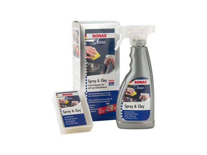 SONAX Xtreme Spray&Clay - čistící spray s modelínou