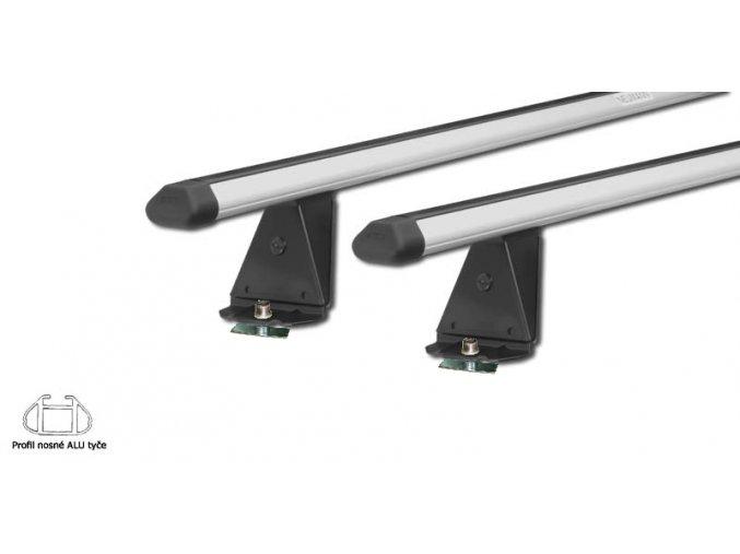 Střešní nosič NEUMANN pro VW, Transporter T5 (3 tyče), r.v. 03->15 s T-profilem.