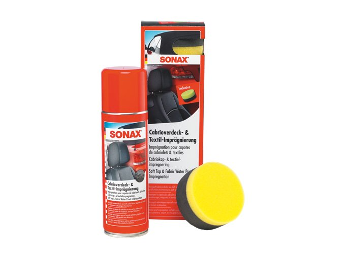 SONAX Impregnace kabrio - textil - spray