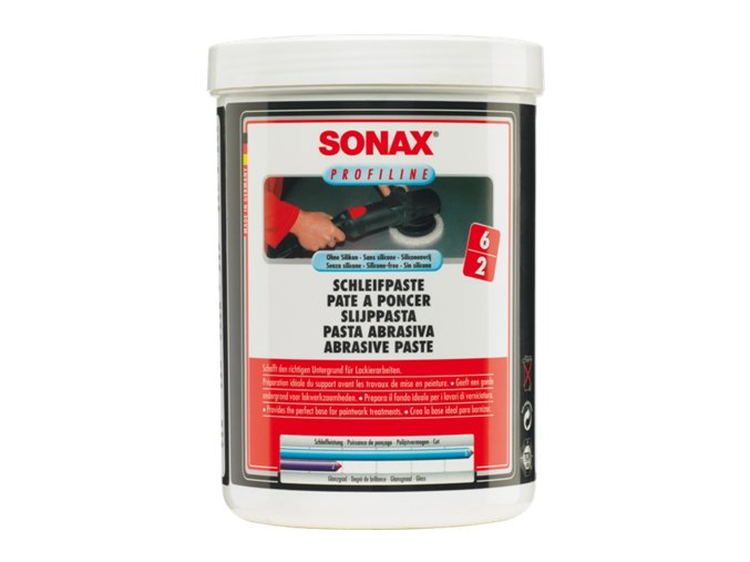 SONAX Brusná pasta bez silikonu - hrubá