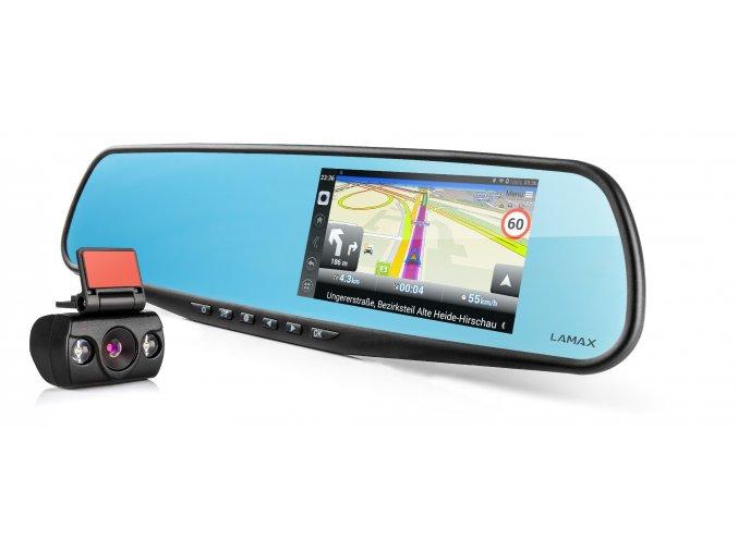 01 LAMAX DRIVE S5 Navi 8594175351156 front and back camera web