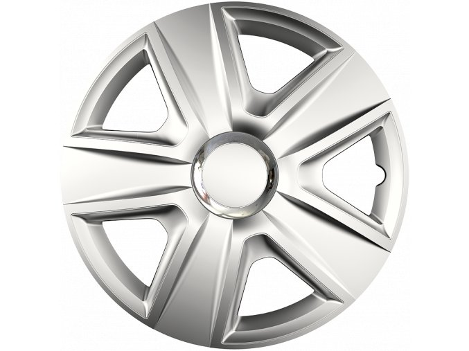 "Kryty kol - poklice Esprit RC 14"" Ring Chrome Silver"