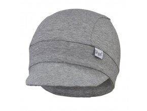 Kšiltovka tenká Outlast® - šedý melír (Velikost 5 | 49-53 cm)