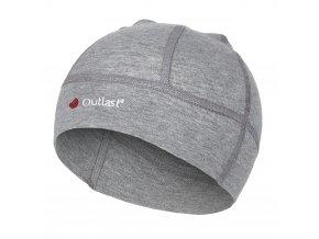 Čepice smyk BABY Outlast® - šedý melír (Velikost 4 | 45-48 cm)