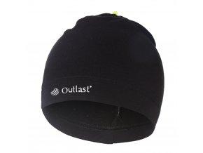 Čepice smyk natahovací ZOO Outlast ® - černá (Velikost 4 | 45-48 cm)