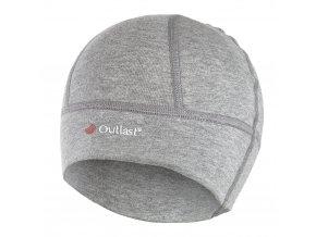 Čepice smyk SPORT Outlast® - šedý melír (Velikost 6 | 54-57 cm)