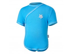 Body tenké zavinovací KR Outlast® - modrá (Velikost 68)