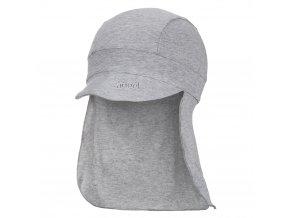 Kšiltovka tenká pirát Outlast® - šedý melír (Velikost 5 | 49-53 cm)