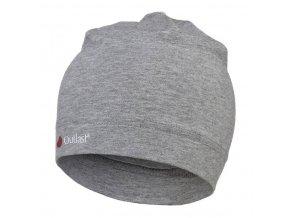 Čepice tenká Outlast® - šedý melír (Velikost 5 | 49-53 cm)