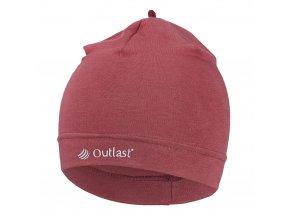Čepice tenká Outlast® - bordová (Velikost 5   49-53 cm)