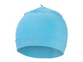 Čepice tenká Outlast® - modrá (Velikost 5 | 49-53 cm)