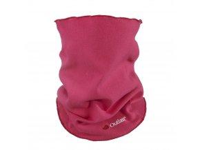 Nákrčník dětský smyk Outlast® - sytě růžová (Velikost UNI)