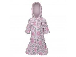 Zimní pytel MAZLÍK Outlast® - kytky/růžová baby (Velikost 68)