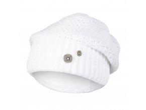 Čepice pletená baret Outlast ® - bílá lesk (Velikost 5 | 49-53 cm)