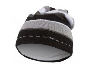 Čepice pletená kluk Outlast ® - pruh černošedý (Velikost 5 | 49-53 cm)