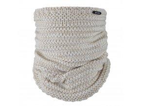 Nákrčník pletený Outlast ® - sv.béžová (Velikost 5 | 49-53 cm)