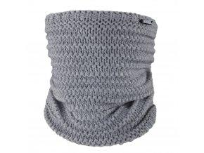 Nákrčník pletený Outlast ® - tm.šedá (Velikost 5 | 49-53 cm)