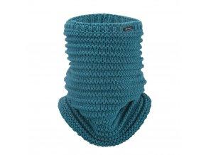 Nákrčník pletený Outlast ® - tm.mentolová (Velikost 5   49-53 cm)