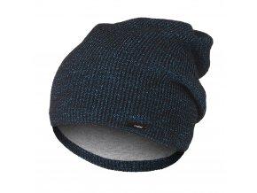 Čepice pletená UNI Outlast ® - tyrkysovočerná (Velikost 4 | 45-48 cm)