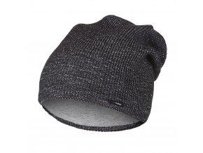 Čepice pletená UNI Outlast ® - černošedá (Velikost 4 | 45-48 cm)