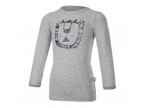 Tričko smyk ZOO DR Outlast® - šedý melír (Velikost 86)