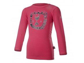 Tričko smyk ZOO DR Outlast® - sytě růžová (Velikost 86)