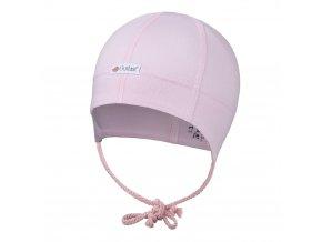 Čepice tenká zavazovací plochý šev Outlast® - růžová baby (Velikost 2 | 39-41 cm)