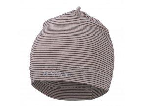 Čepice tenká pruh Reflex Outlast® - pruh sv.hnědý (Velikost 5 | 49-53 cm)