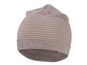 Čepice tenká pruh Reflex Outlast® - pruh sv.hnědomedový (Velikost 5 | 49-53 cm)