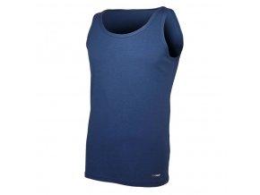 Nátělník pánský tenký Outlast® - tmavě modrá (Velikost M)