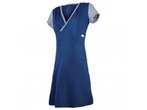 Noční košile tenká Outlast® - pruh tm.modrý (Velikost XXL)