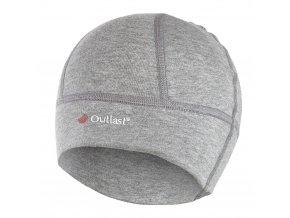 Čepice SPORT tenká Outlast® - šedý melír (Velikost 6 | 54-57 cm)