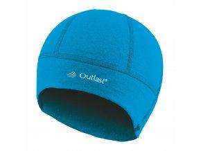 Čepice SPORT tenká Outlast® - azurově modrá (Velikost 6 | 54-57 cm)