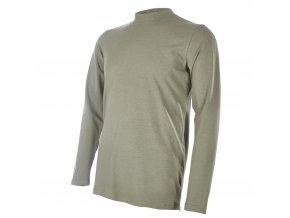 Tričko pánské DR tenké Outlast® - khaki (Velikost M)