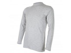 Tričko pánské DR tenké Outlast® - šedý melír (Velikost M)
