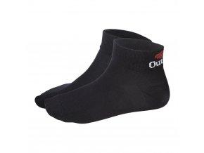 Ponožky nízké Outlast® - černá (Velikost 35-38)