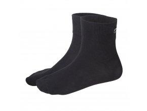 Ponožky Outlast® - černá (Velikost 43-46)