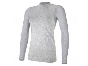 Tričko dámské DR tenké Outlast® - šedý melír (Velikost XL)