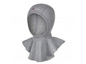 Kukla smyk Outlast® - šedý melír (Velikost 1 | 36-38 cm)