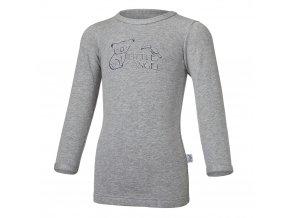 Tričko smyk KOALA Outlast® - šedý melír (Velikost 86)