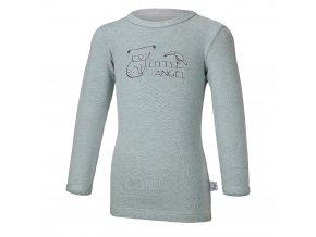 Tričko smyk KOALA Outlast® - lišejník melír (Velikost 86)