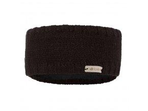 Čelenka pletená hladká Outlast ® - černá (Velikost 5   49-53 cm)